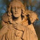 Jesus Christ - den bra herden fotografering för bildbyråer