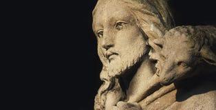 Jesus Christ - der gute Hirte lizenzfreies stockbild