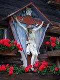 Jesus Christ di legno Immagine Stock