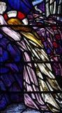 Jesus Christ die in Gethsemane bidden Royalty-vrije Stock Afbeeldingen