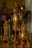 Jesus Christ e a vela imagens de stock royalty free