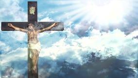 Jesus Christ Easter vídeos de arquivo