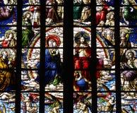 Jesus Christ et Mary Image libre de droits