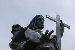 Jesus christ Förlossare Arkivbild