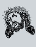 Jesus Christ face Stock Photos