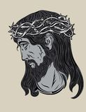 Jesus Christ Face Stock Images