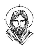 Jesus Christ Face Royalty Free Stock Photo