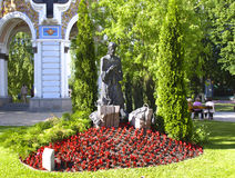 Jesus Christ in the Garden of Gethsemane.Ukraine. Kiev. stock image