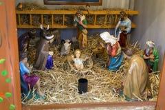 Jesus Christ-Geburtsfigürchen lizenzfreie stockfotos