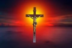 Jesus Christ gloria shine light Stock Photos