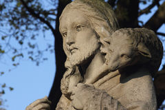 Jesus Christ - the Good Shepherd Royalty Free Stock Images