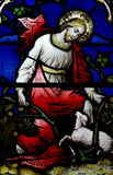 Jesus Christ the Good Shepherd. A photo of Jesus Christ the Good Shepherd Royalty Free Stock Image