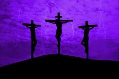 Jesus Christ ha crocifitto Fotografia Stock Libera da Diritti