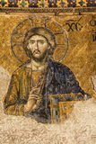 Jesus Christ in Hagia Sophia Stock Images