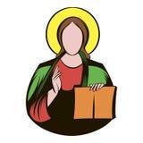 Jesus Christ icon cartoon Royalty Free Stock Photos