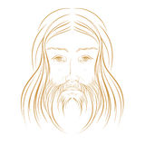 Jesus Christ illustration Stock Photography