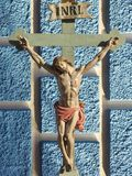 Jesus Christ INRI Royaltyfri Fotografi