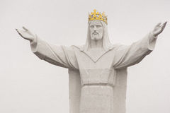 Jesus Christ the King Monument Stock Photo