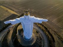 Jesus Christ konungen royaltyfria foton