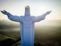 Jesus Christ konungen arkivbilder