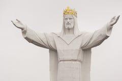 Jesus Christ konungen Monument Arkivfoto