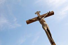 Jesus Christ-kruisiging. Royalty-vrije Stock Foto's
