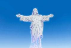 Jesus christ loves you - statue Stock Photos