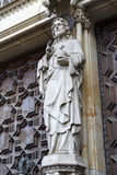 Barcelona Cathedral, Jesus Christ Royalty Free Stock Photo
