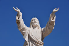 Jesus christ marble statue Stock Photography