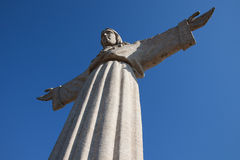 Jesus Christ monument in Lisbon Royalty Free Stock Image