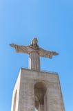 Jesus Christ monument in Lisbon Stock Photography