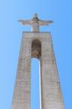 Jesus Christ monument in Lisbon Royalty Free Stock Image
