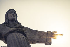 Jesus Christ monument in Lisbon - Portugal Stock Images