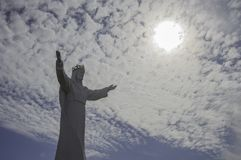 Jesus Christ Monument, Swiebodzin, Polen Lizenzfreies Stockfoto