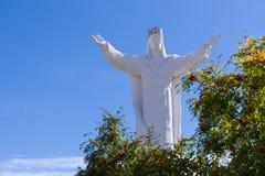 Jesus Christ-Monument Swiebodzin Polen lizenzfreie stockfotos