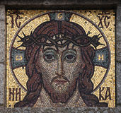 Jesus Christ mosaic. Stock Photo