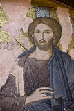 Jesus Christ mosaic in Chora Church Royalty Free Stock Images