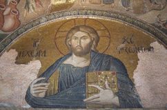 Jesus Christ mosaic in Chora Church, Istanbul Royalty Free Stock Images