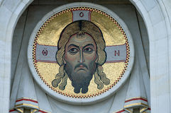 Jesus Christ mosaic Royalty Free Stock Photo