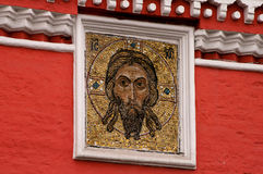 Jesus Christ mosaik Arkivfoton