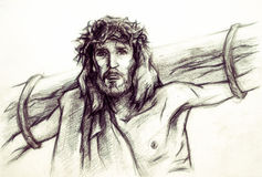 Jesus Christ of Nazareth Royalty Free Stock Image