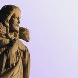 Jesus Christ o bom pastor Imagens de Stock