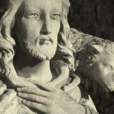 Jesus Christ - o bom retro do pastor denominado fotografia de stock royalty free