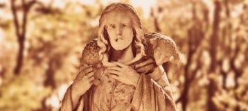 Jesus Christ - o bom vintage do pastor denominado Fotografia de Stock Royalty Free