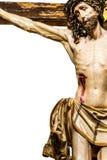 Jesus Christ op het Kruis Stock Foto