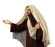 Jesus Christ with open arms. Gives forgiveness Stock Photography