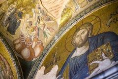 Jesus Christ Pantocrater.The Church of the Holy Saviour in Chora, Kariye Muzesi, Stock Image