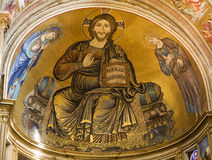 Jesus Christ - Pantocrator from Pisa Stock Photo