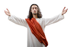 Jesus Christ personifacation isolated Stock Images