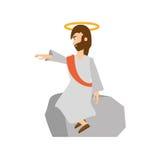 Jesus christ preach pray Stock Photos